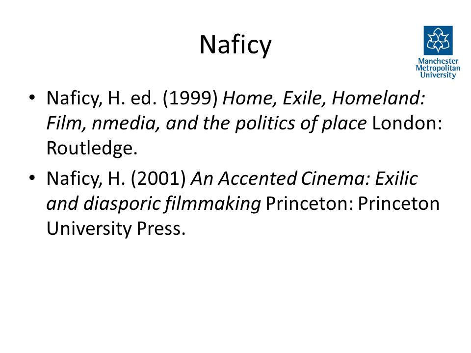 Naficy Naficy, H. ed.