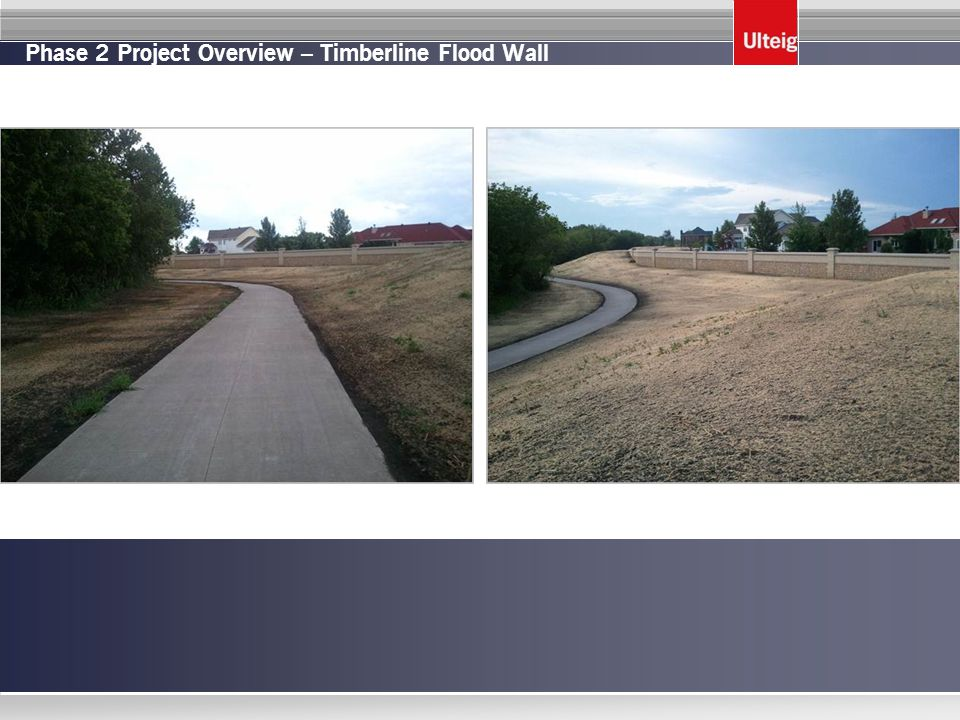Phase 2 Project Overview – Timberline Flood Wall