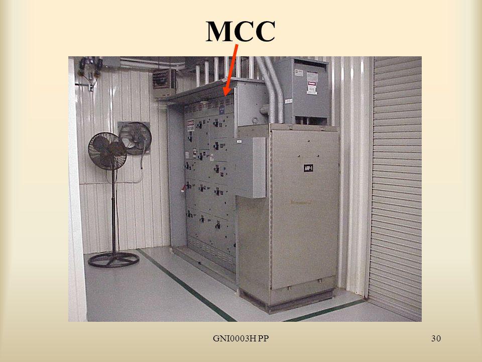 GNI0003H PP30 MCC