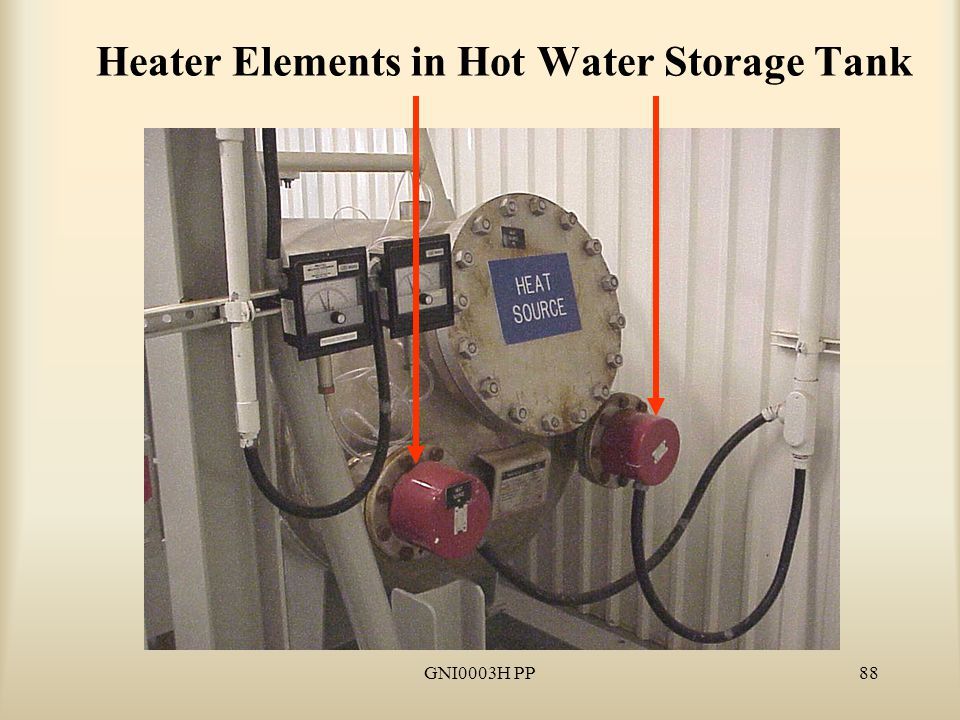GNI0003H PP88 Heater Elements in Hot Water Storage Tank