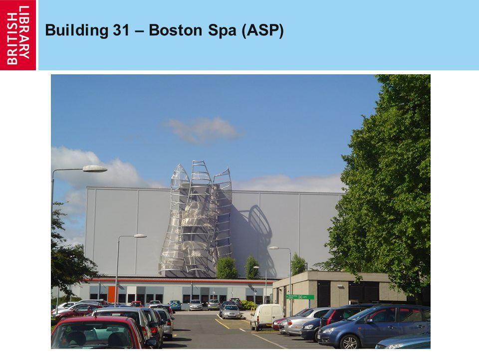 Building 31 – Boston Spa (ASP)