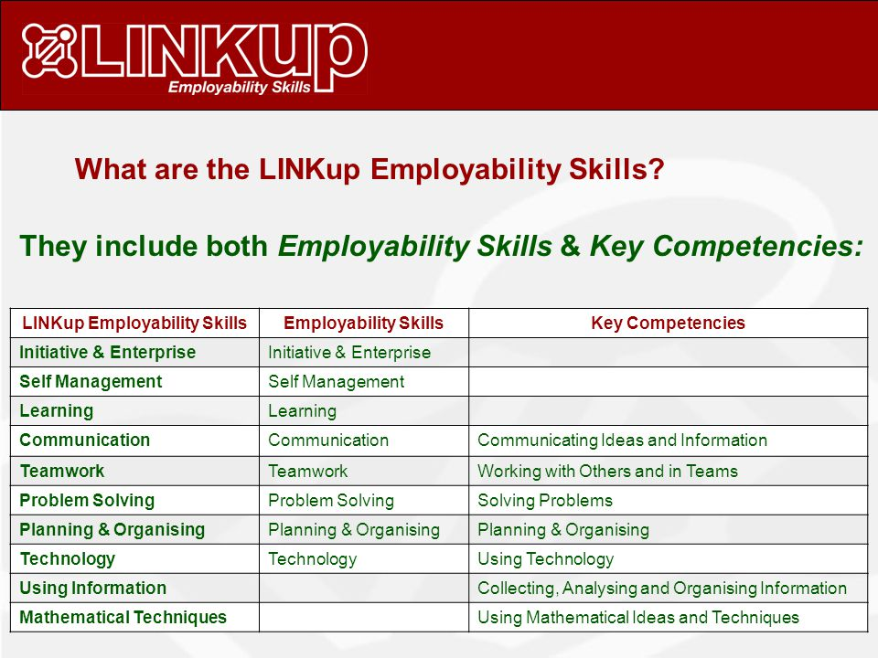 How are generic skills assessed.