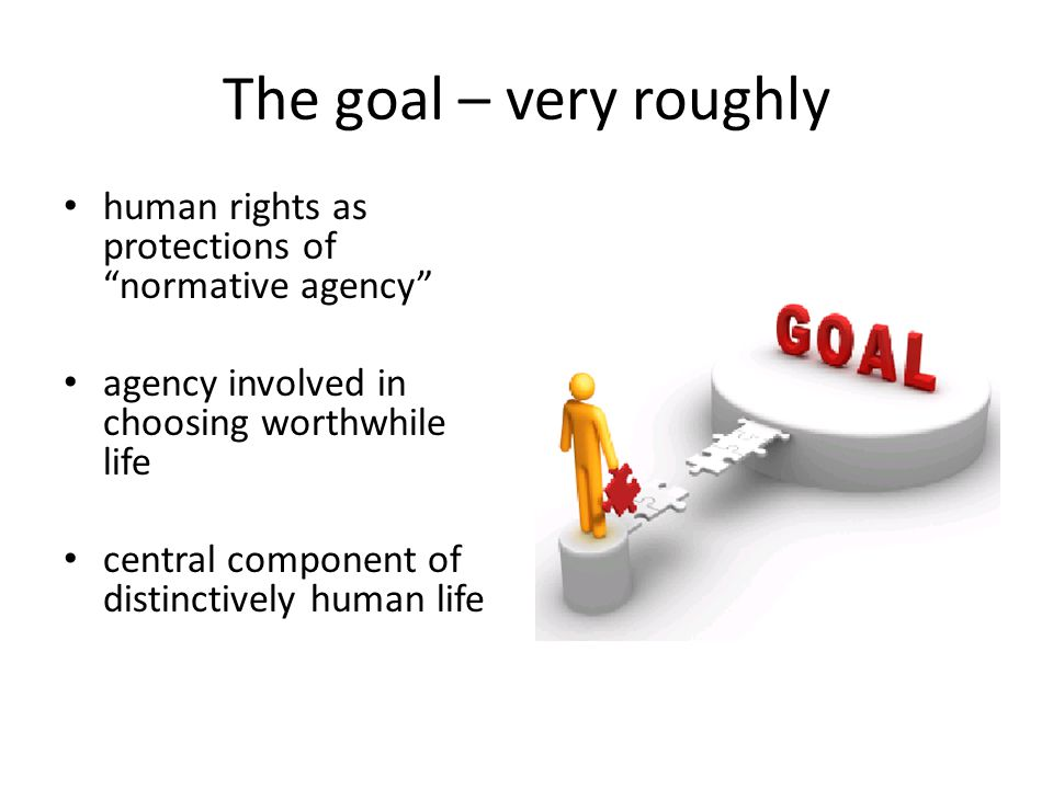 Why limit human rights in this way.