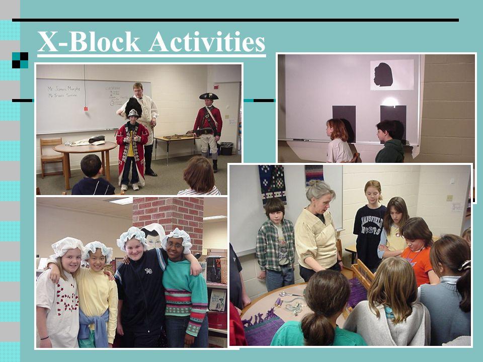 X-Block Activities