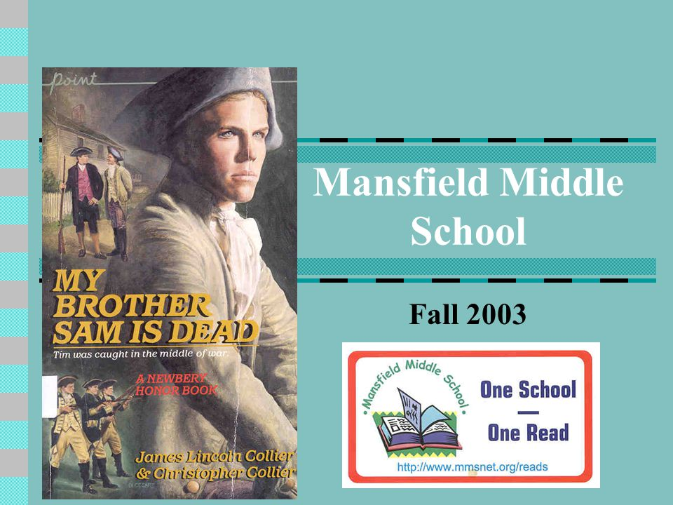 Mansfield Middle School Fall 2003