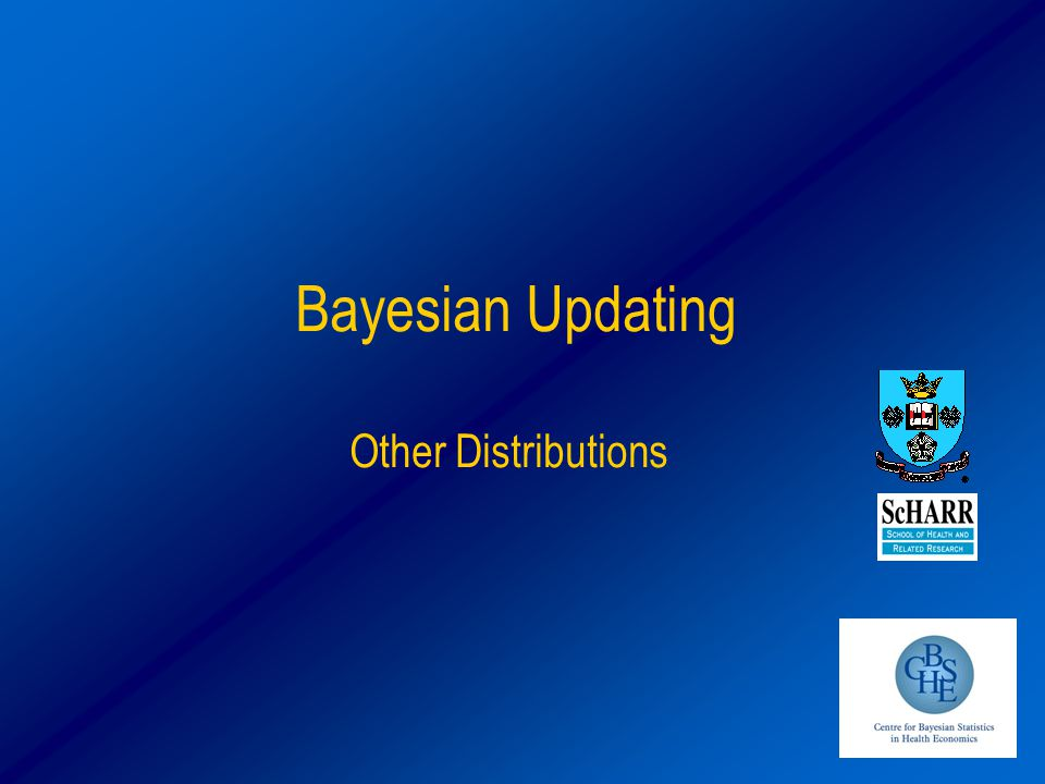 Bayesian Updating Other Distributions