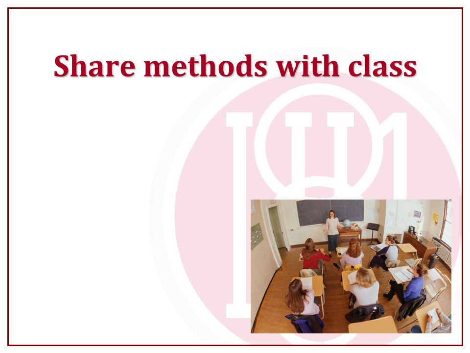 Share methods with class