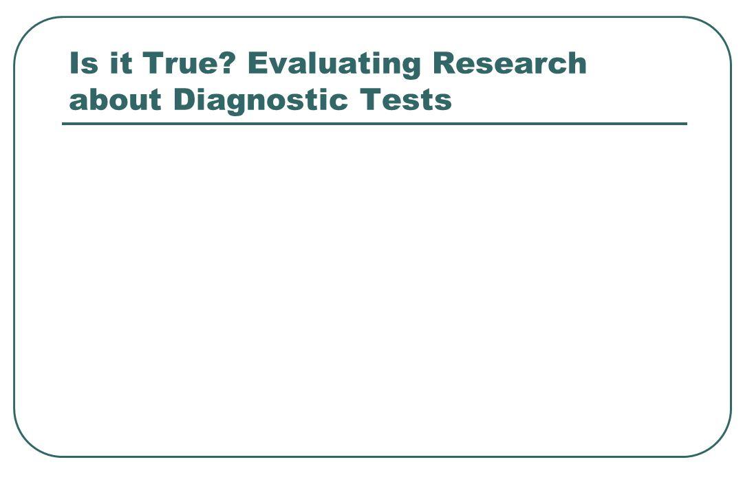 TEST + TEST - Specificity