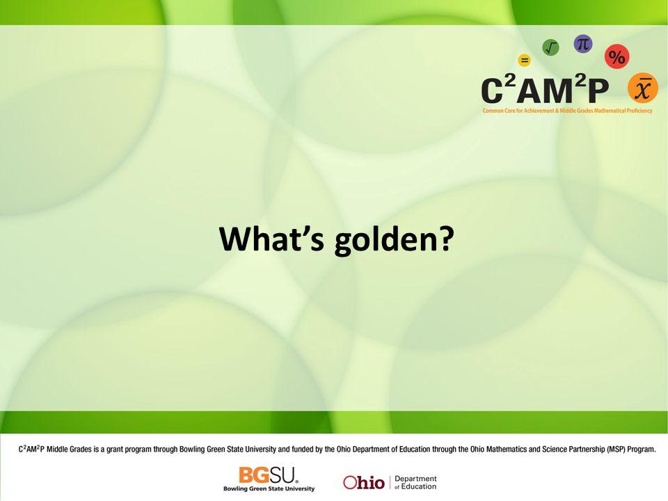What's golden?