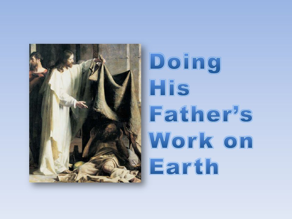 He showed by his example that the Sabbath was a day to honor him and his Father by doing good and worthwhile things, such as helping people.