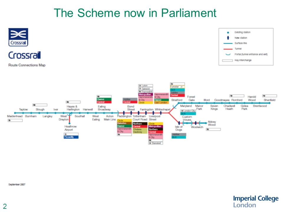 2 The Scheme now in Parliament