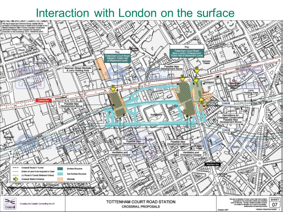 39 Interaction with London on the surface
