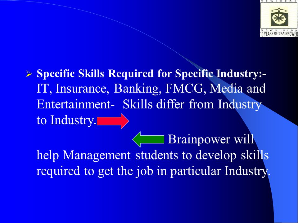 Most of the Management/ Other students don't have the right well groomed Corporate Personality. Brainpower will help students develop right well groom