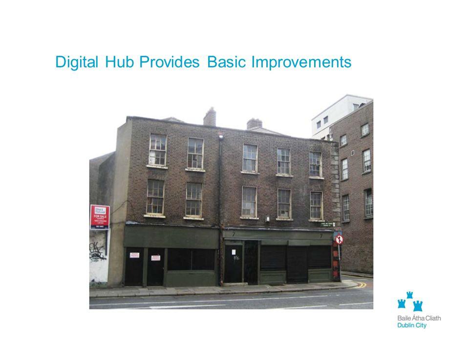 Digital Hub Provides Basic Improvements