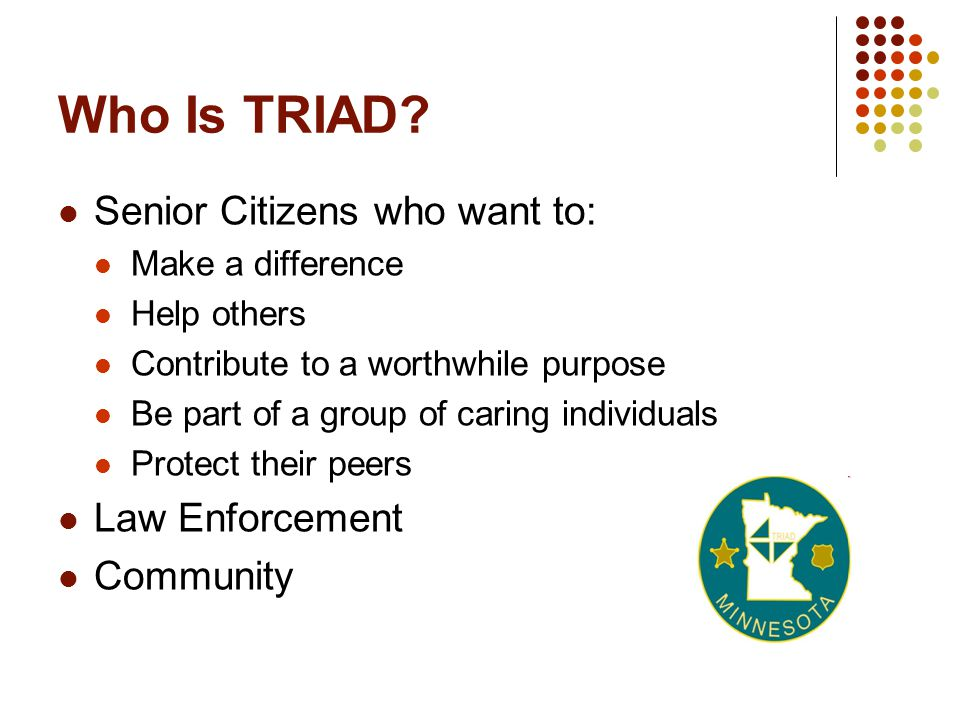 Who Is TRIAD.