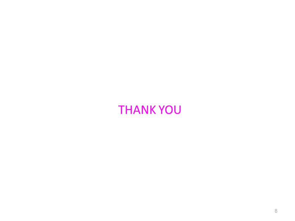 THANK YOU 8