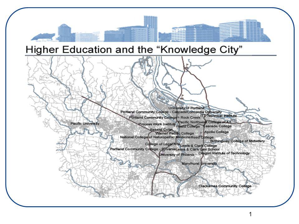 2 Higher Education– A Super Cluster