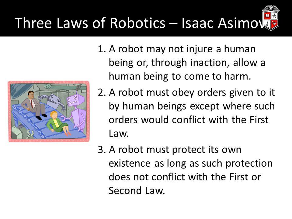 Three Laws of Robotics – Isaac Asimov 1.