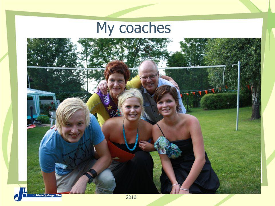 My coaches Nicoline Wackerberg & Eva-Marie Sundqvist 2010