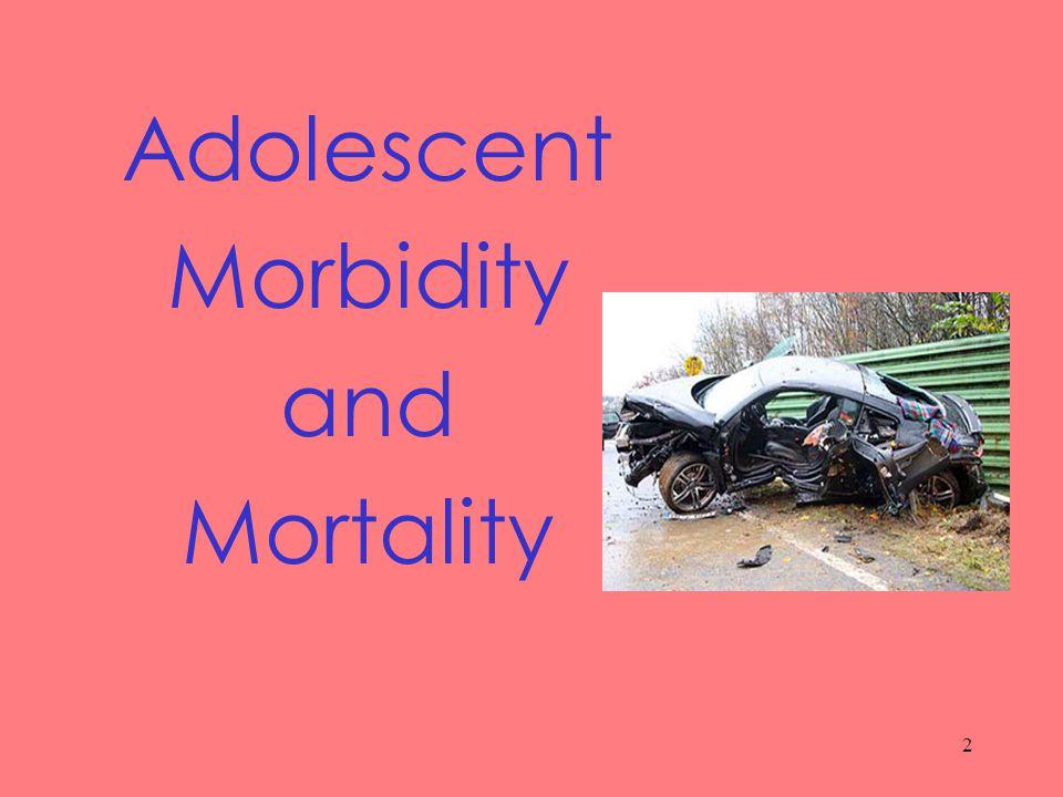 2 Adolescent Morbidity and Mortality