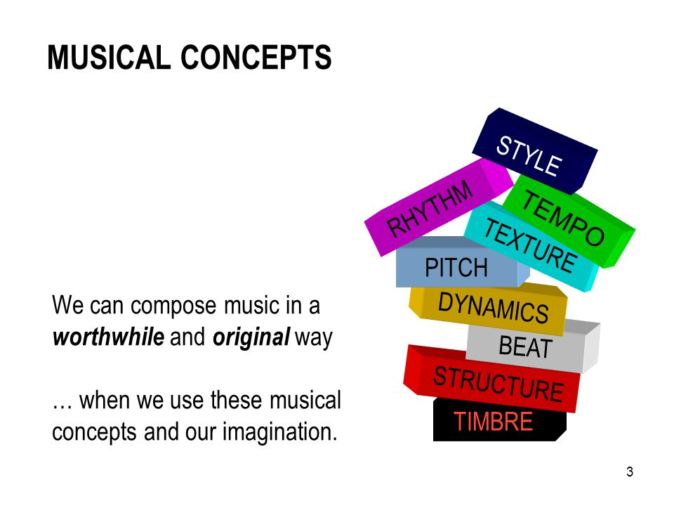 2 PLAN for this SESSION Introduction Warm-ups Musical Concepts and Musical Development Classroom Composing Composing Activity for Junior Cycle student