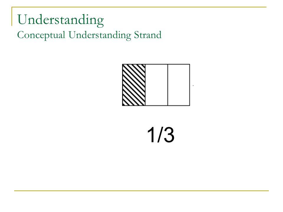 Understanding Conceptual Understanding Strand 1/3