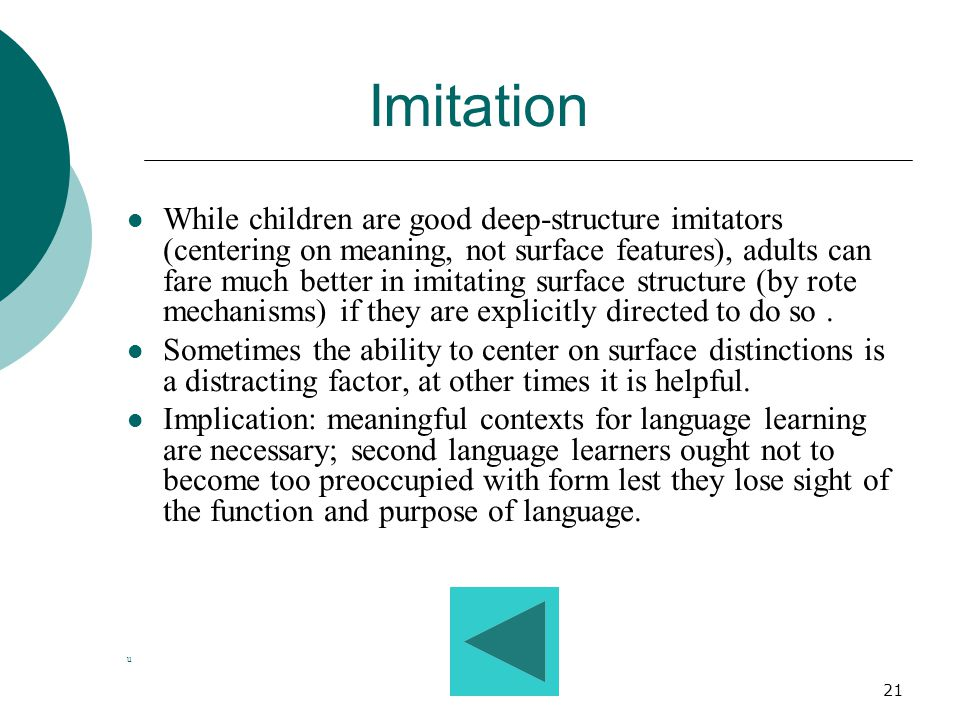 20 Language and Thought Language helps to shape thinking and thinking helps to shape language. What happens to this interdependence when a second lang
