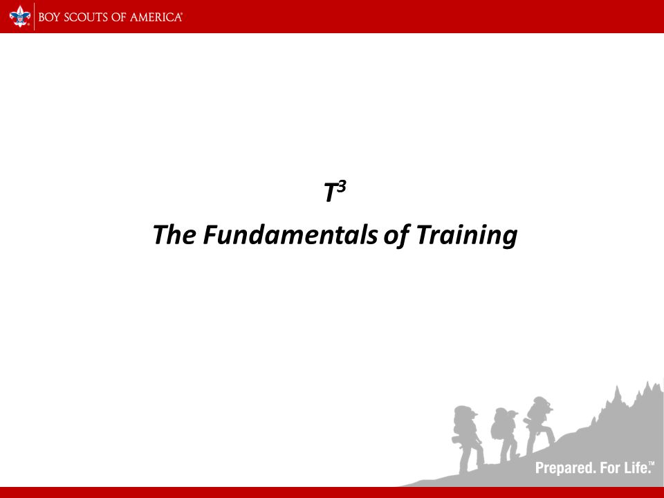 T 3 The Fundamentals of Training