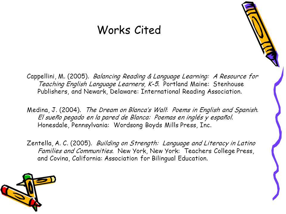 Works Cited Cappellini, M. (2005).
