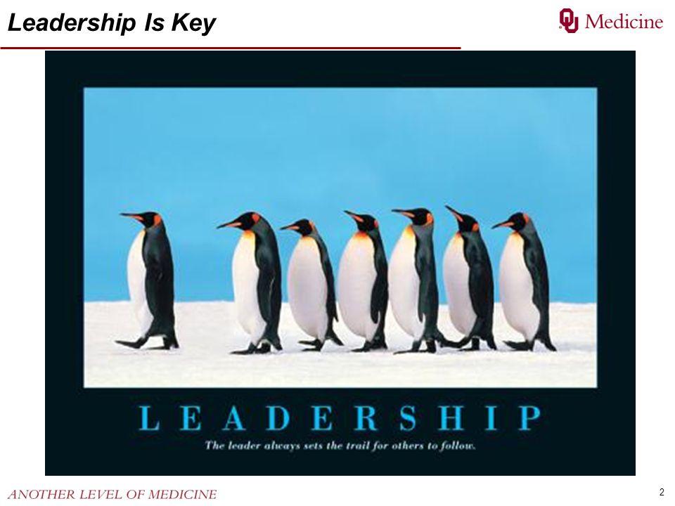 2 Leadership Is Key