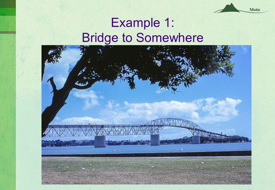 Example 1: Bridge to Somewhere