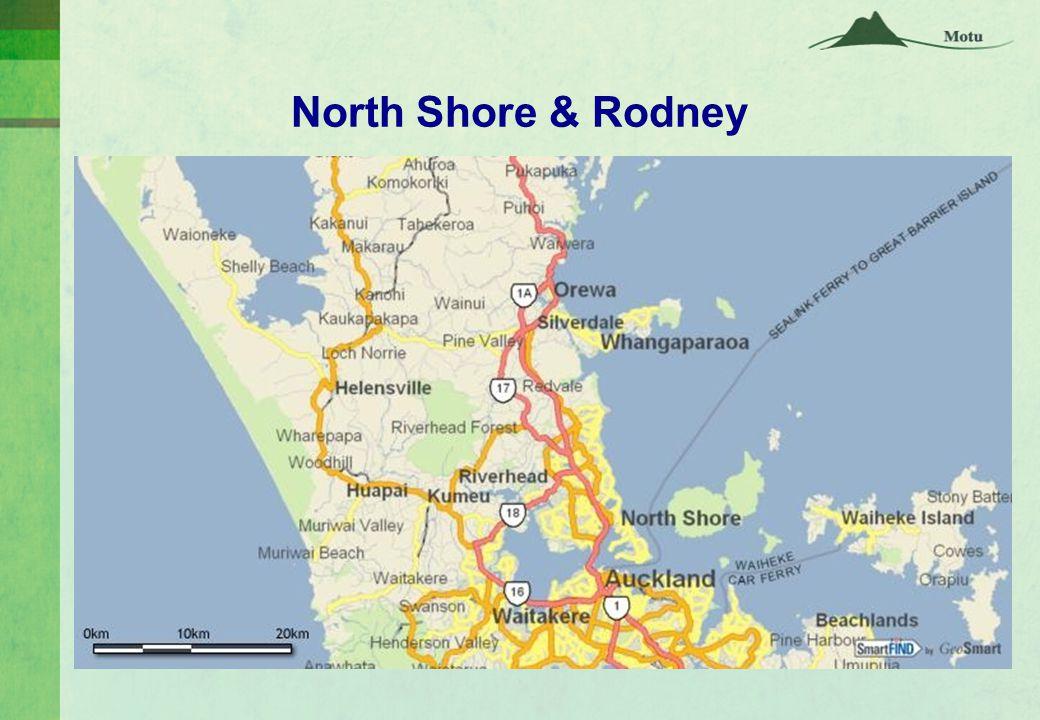 North Shore & Rodney