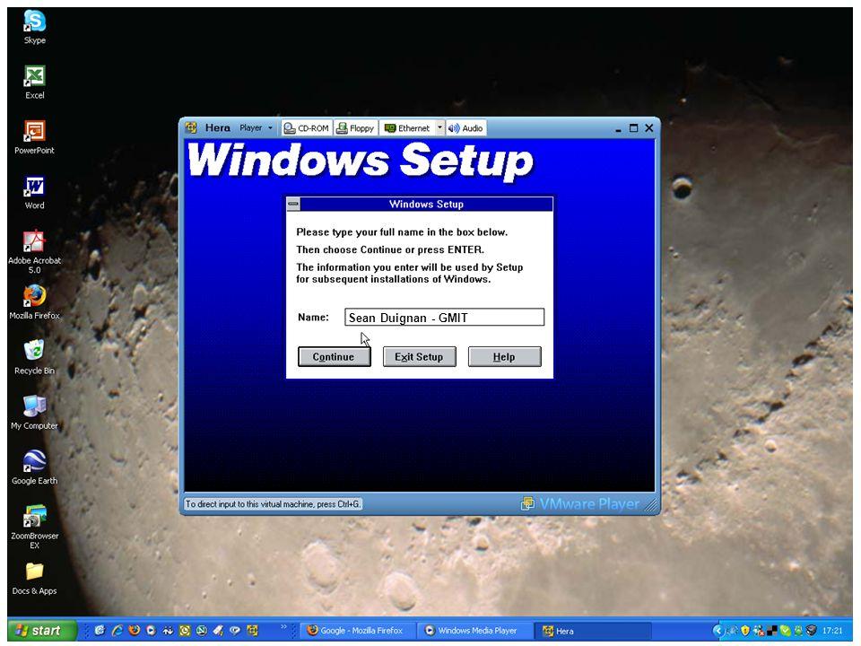 EdTech 2007 – May 25 th 2007. 32 Sean Duignan - GMIT