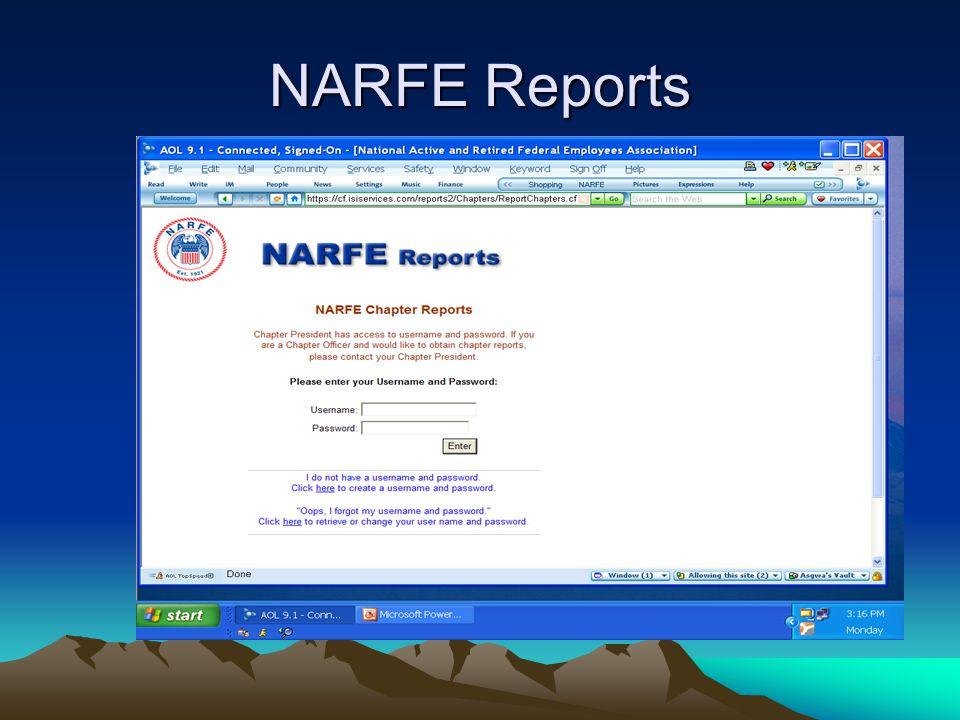 NARFE Reports