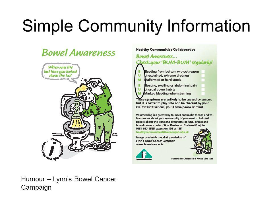 Humour – Lynn's Bowel Cancer Campaign
