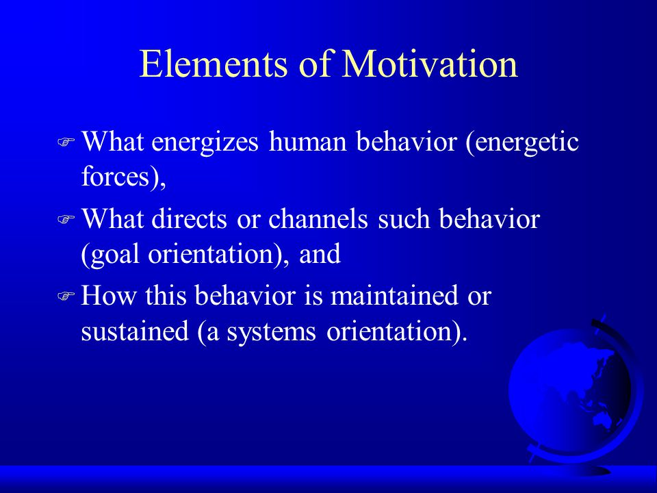 Models of Work Motivation Thomas Li-Ping Tang, Ph.D. Middle Tennessee State University