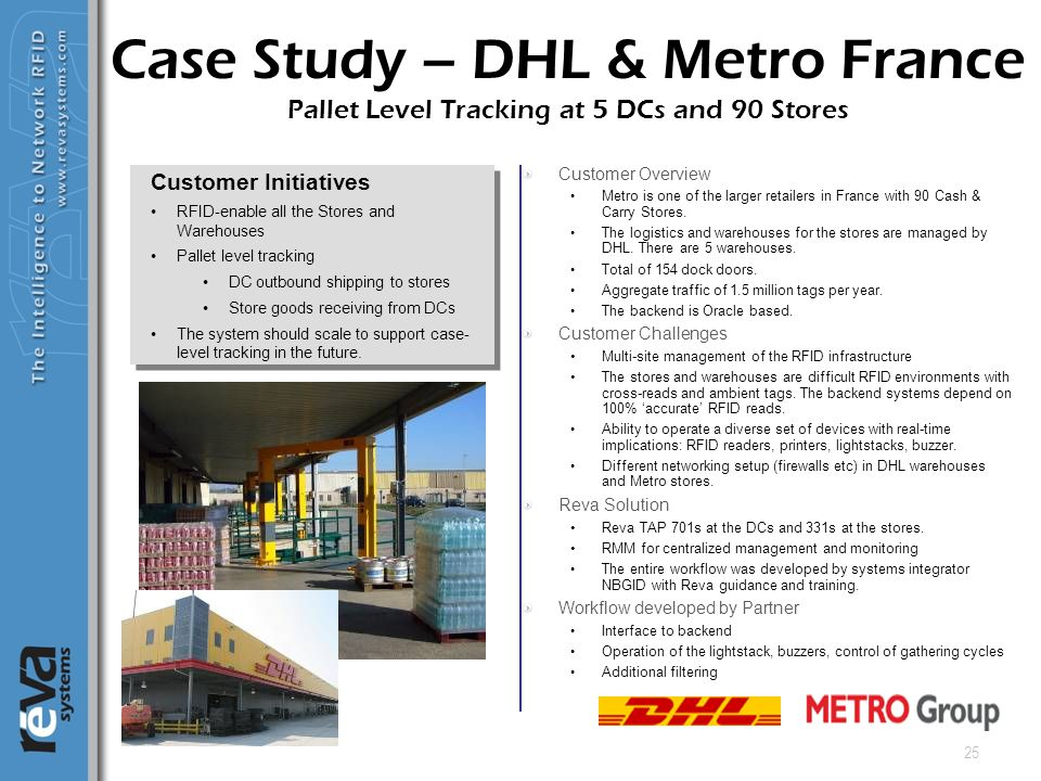 25 Customer Overview Metro is one of the larger retailers in France with 90 Cash & Carry Stores. The logistics and warehouses for the stores are manag