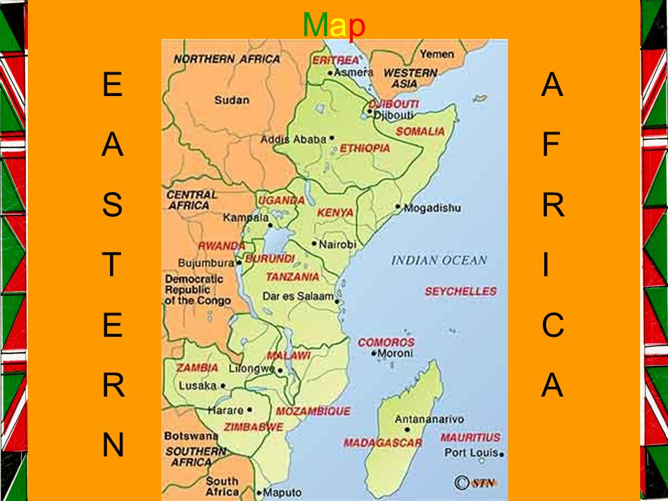 EASTERNEASTERN AFRICAAFRICA MapMap
