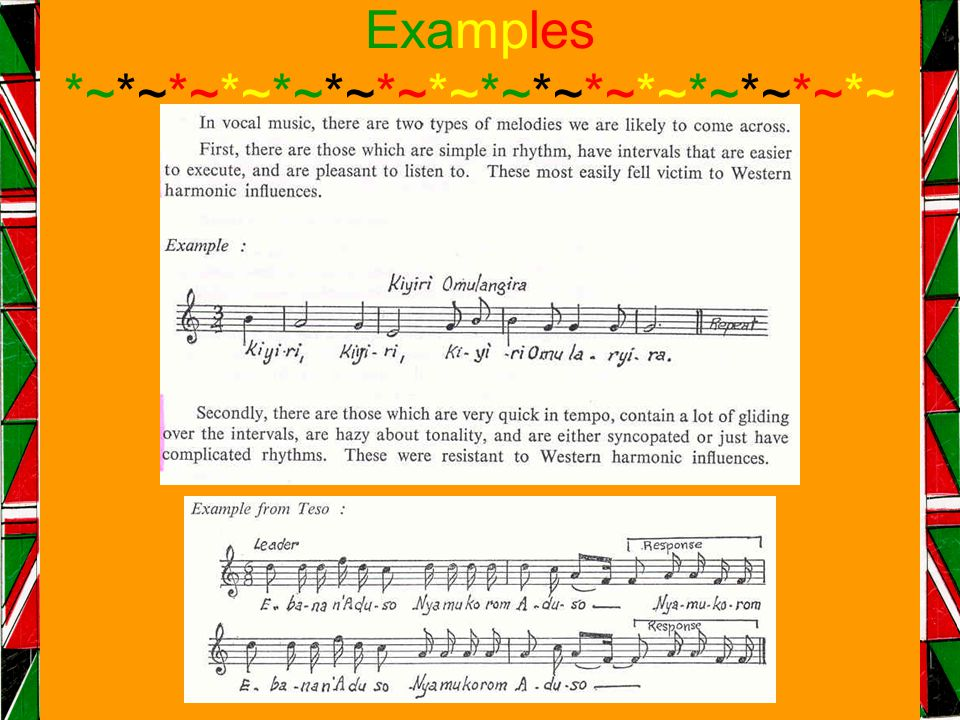 Examples *~*~*~*~*~*~*~*~*~*~*~*~*~*~*~*~