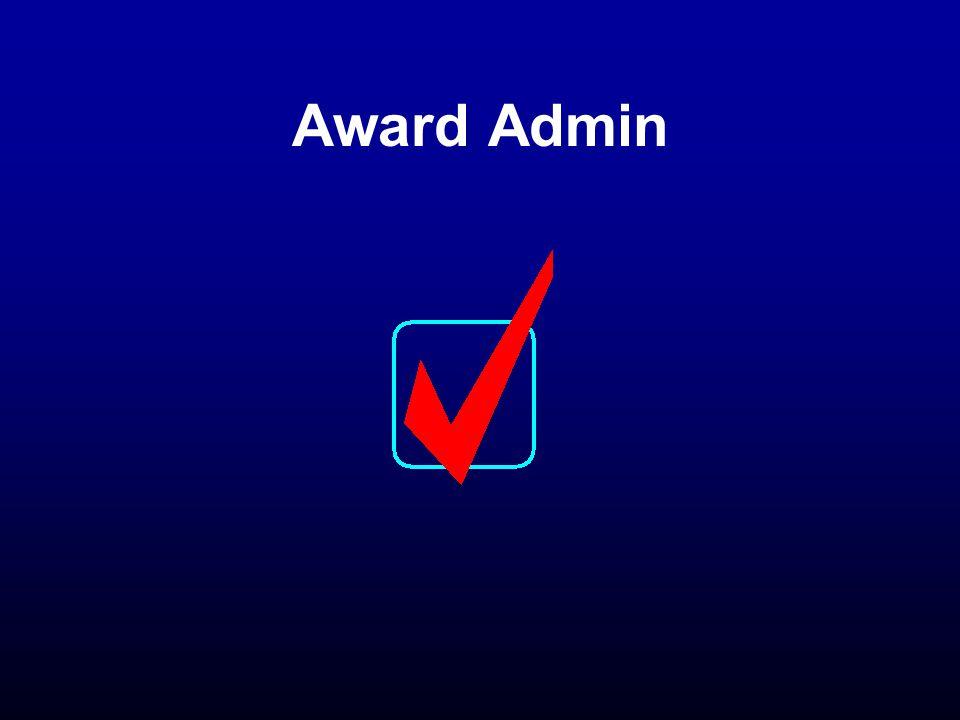 Award Admin