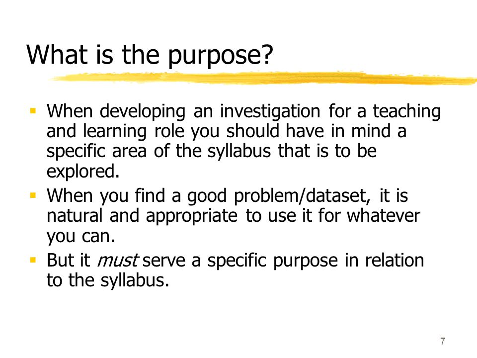 18 Student projects  The guidelines for developing investigations for use in the classroom apply to student project work as well.