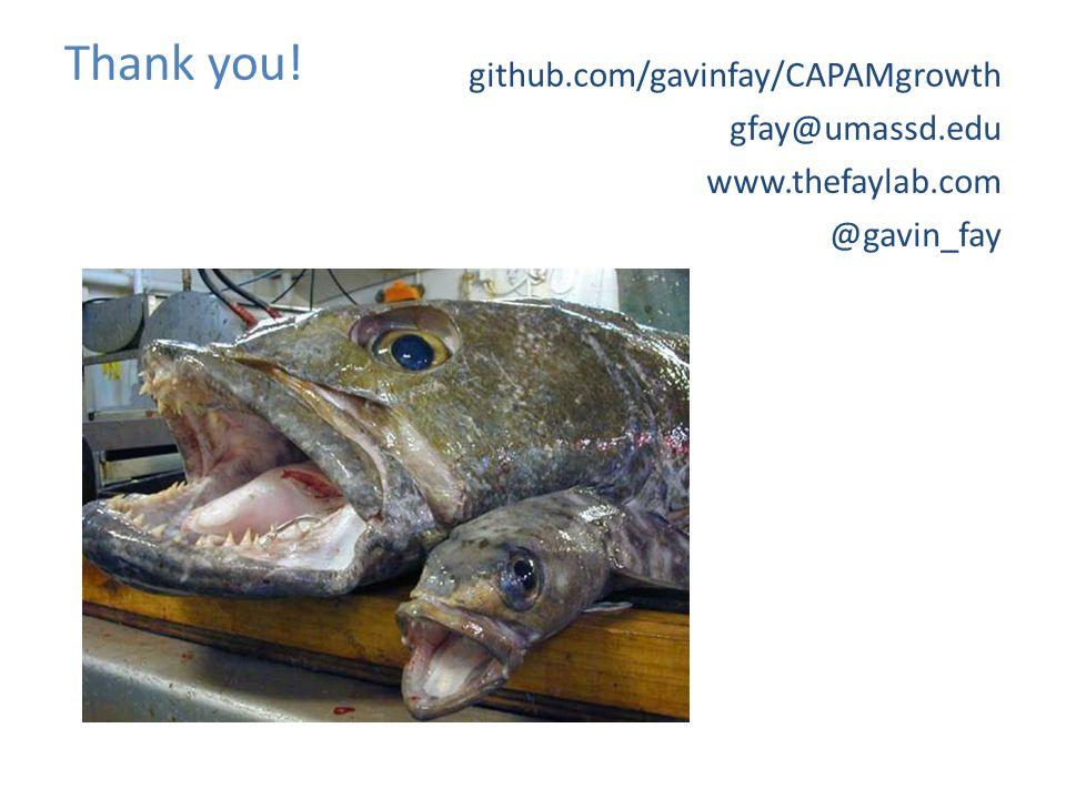 Thank you! github.com/gavinfay/CAPAMgrowth gfay@umassd.edu www.thefaylab.com @gavin_fay