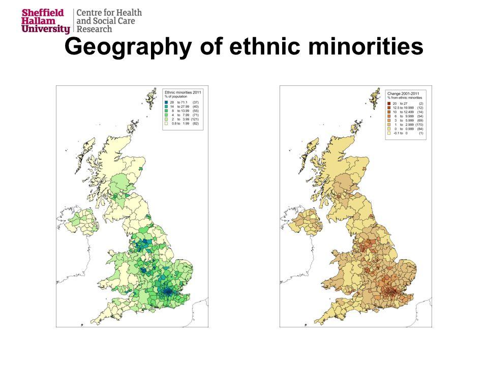 Geography of ethnic minorities
