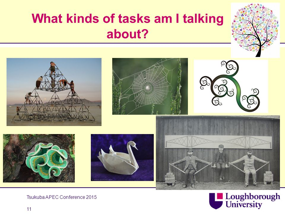 What kinds of tasks am I talking about Tsukuba APEC Conference 2015 11