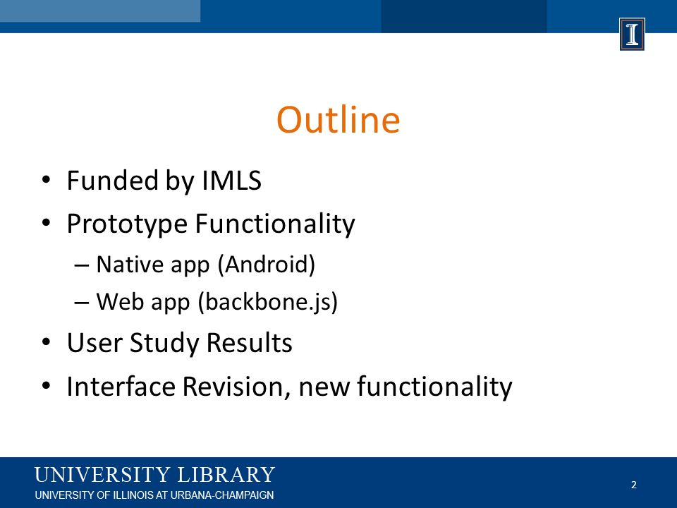 IMLS Grant Funding Sparks Grant 2012-2014 The augmented reality functionality explored in this grant utilized optical character recognition (OCR) software embedded into a native Android app.