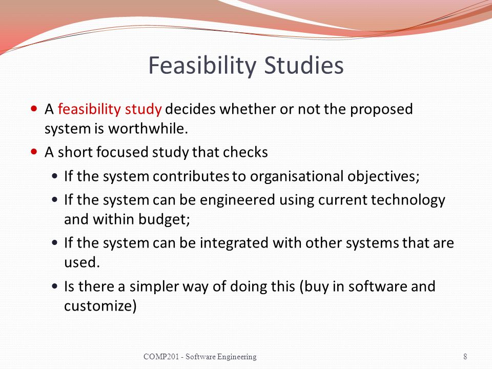 Lecture Key Points The requirements engineering process includes a feasibility study, requirements elicitation and analysis, requirements specification and requirements management.