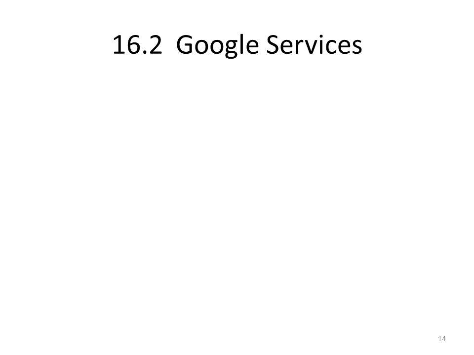 16.2 Google Services 14