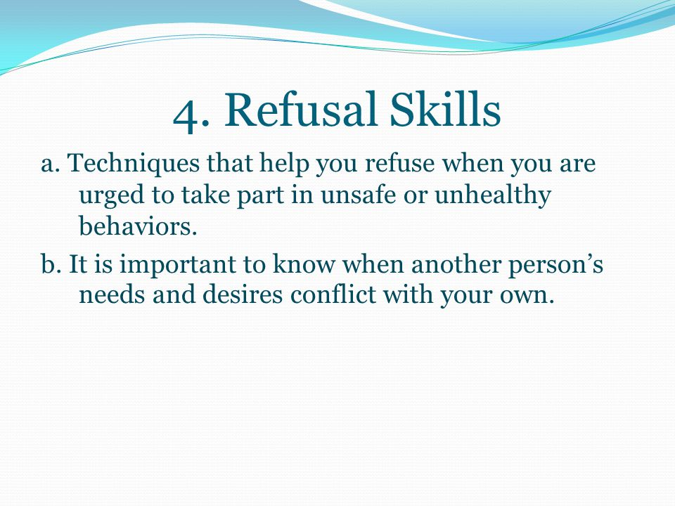 3. Communication skills= the process of sending to and receiving messages from others a.
