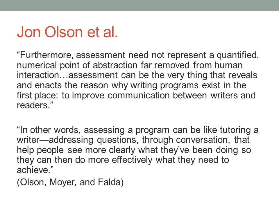 Jon Olson et al.