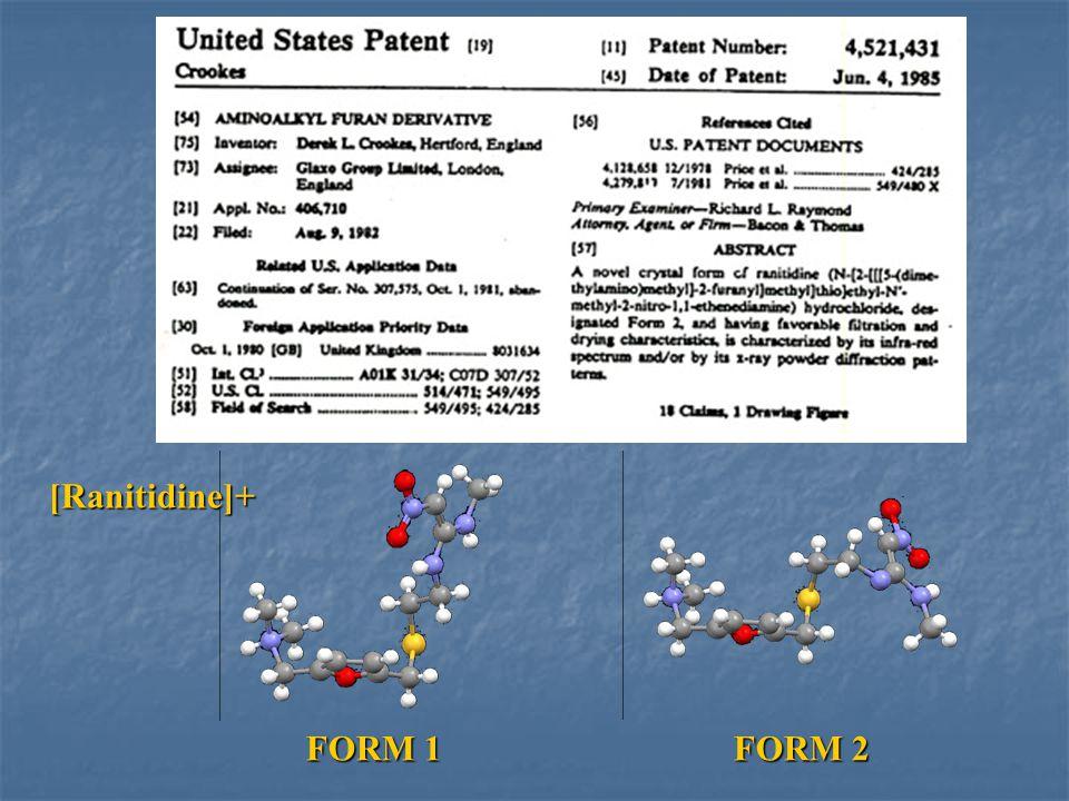 FORM 1FORM 2 [Ranitidine]+